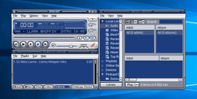 تحميل وين امب 2021 مجانا Winamp وبرابط مباشر برنامج تشغل ملفات الصوتية